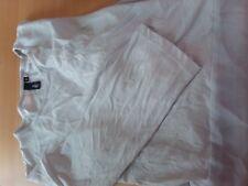 S.Oliver Shirt grau 3/4 Arm  Größe M