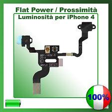 FLAT TASTO POWER ACCENSIONE PER IPHONE 4 SENSORE PROSSIMITA' FLEX ON OFF