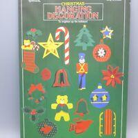 Vintage Hallmark Christmas Diecut Cardboard 3D Hanging Decorations Mobile