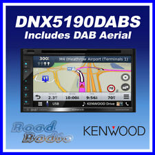 """Kenwood DNX5190DABS 6.8""""GPS Bluetooth Apple CarPlay Android Auto with DAB Aerial"""