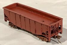 TT Scale Resin Hopper, assembled and painted, with trucks and couplers