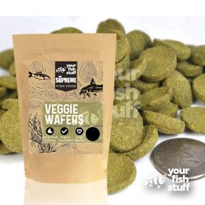 Veggie Spirulina Wafers Algae Aquarium Bulk Fish Food 1/4LB to 5 LB(choose size)
