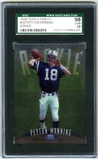 PEYTON MANNING~1998 TOPPS FINEST #121 GRADED SGC-10 GEM-MT (98) ROOKIE RC CARD