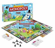 ADVENTURE TIME MONOPOLY EDITION BRAND NEW 6 X COLLECTIBLE METAL TOKENS
