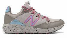New Balance Kid's Fresh Foam Crag Little Kids Female Shoes Grey with Blue & Pink