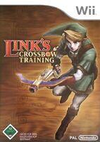 Nintendo Wii Spiel - Link's Crossbow Training nur Software mit OVP