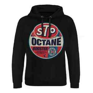 STP Octane Booster Epic-Mens Hoodie Hooded Sweater (S-5XL)