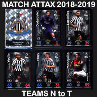 MATCH ATTAX 2018-2019 (TEAMS N to T) 18/19 *Please Select* 2018/19