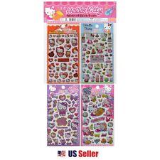 Sanrio Hello Kitty Epoxy Hologram Sticker 4pcs 1 Set