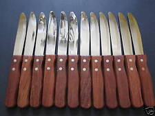 "12 JUMBO STEAK KNIVES RESTAURANT QUALITY 10"" FREE SHIPPING USA ONLY"