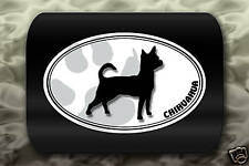 Chihuahua Dog Paw Decal Car Sticker Puppy