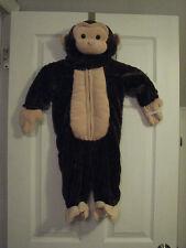 BNWT  Animal Onesies  Child  Unisex  Cosplay Costume Pajamas MONKEY SZ 12 MONTHS