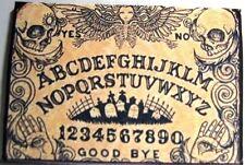 Dollhouse Miniature Halloween Welcome Mat - Tan and Black Ouija Board