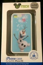 "Disney D-TECH ""Olaf"" FROZEN Limited Release 4/4s iPhone Cell Case New in Box"
