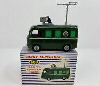 Dinky Supertoys No. 968 BBC T.V. Roving Eye Vehicle in Original Box w/ Insert