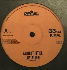 LILY ALLEN : ALRIGHT STILL - [ CD ALBUM PROMO ]