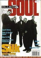 Silk Blues & Soul Magazine 1995  Gerald & Eddie Levert  Candi Staton Jon B Adeva