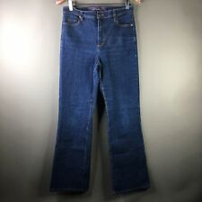 NYDJ Not Your Daughters Jeans Womens Size 8 Medium Wash Cotton Bootcut Jeans