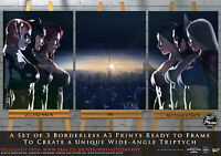 Supergirl Batgirl Wonder Woman Harley Quinn Catwoman Poison Ivy Gotham x3 Prints