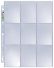 25 Ultra Pro Platinum 9-Pocket Page Protector Sheets