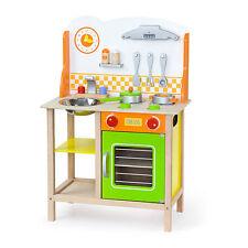 Kinderküche Holz Spielküche Spielzeug Küche bunt Kinderspielküche Puppenküche