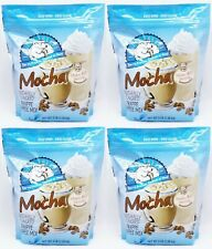 4 BAGS DaVinci Caffe D'Amour Frappe Freeze MOCHA Hot Cold Coffee Mix 3 LBS EACH