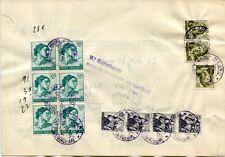 1967 Michelangiolesca Alti Valori 500 lire su Piego Dogana Beni Sequestrati