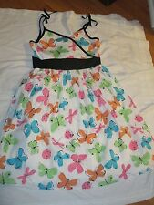 New Rare Editions Butterfly Dress Girls Size 14 NWT Sundress Ladybugs Dragonfly