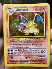 Charizard Holo 4/102 Base 1 Unlimited Pokemon Card PL