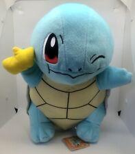 Large Squirtle - Winking Plush - 32cm Tall - Pokemon Pocket Monster