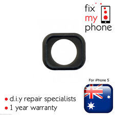 Home Button Holder Rubber Gasket Sticker Adhesive New Repair for iPhone 5