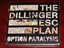 The Dillinger Escape Plan: Option Paralysis Limited Edition CD 2010 Digipak NEW