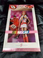 *NEW* Barbie - NASCAR - Dale Ernhardt Jr. - #K7973 NRFB long red boot Zip dress