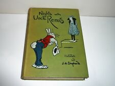 NIGHTS WITH UNCLE REMUS ILLUSTRATED BY  J.A. SHEPHERD DATED 1919