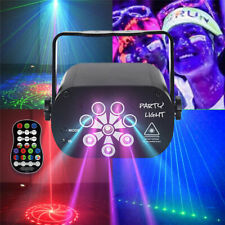 128 Pattern Laser Stage Dj Lighting Rgb Led Usb Projector Light Party Disco Lamp