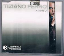 TIZIANO FERRO XVERSO CD SINGOLO SINGLE cds