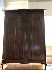 Queensland maple wardrobe with slide out drawers