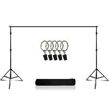 Lusana Studio Muslin Background Photography Backdrop Support Stand Crossbar Kit