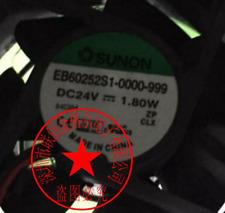 1pc new fan freeship EB60252S1-0000-999 DC24V 1.80W SUNON 2
