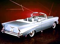 1957 Chevrolet Dealer Promo - Long Low Terrific - Color Film - MP4 CD