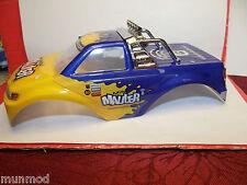 Hobbyzone Hbz3018 Blue Painted Body Mini Mauler 1/20 Scale