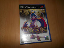 DISGAEA HOUR OF DARKNESS - SONY PS2 PLAYSTATION 2 - NUEVO PAL PRECINTADO