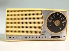 Vintage Westinghouse Lemon Yellow Model H-612P5 Transistor Radio