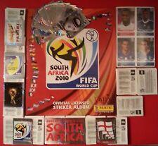 ALBUM CALCIATORI PANINI W CUP SOUTH AFRICA 2010 + SET COMPLETO +AGGIORNAMENTI.