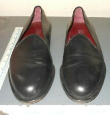 Barneys New York Italy Mens 8M Slip On Leather Loafer