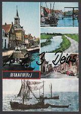 734Q)  Ansichtskarte   AK  Makkum ( Fr.)   5 Motive    Holland   Niederlande