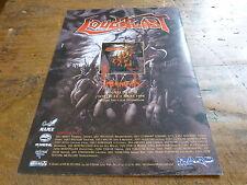 LOUDBLAST - Publicité de magazine / Advert FRAGMENTS !!!