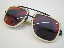 DITA MACH ONE DRX2030K Limited Edition Matte Bone Red Glasses Eyewear Sunglasses