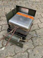 Ex mod original British army No 2 MK2 modified cooking stove field cooker