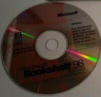 Lot of 1990s/2000s Software Discs: Microsoft Bookshelf, Encarta 98